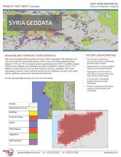 Geodata Highlights: Syria