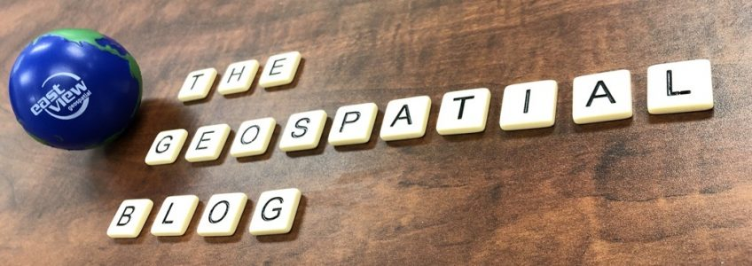 """Scrabble tiles spelling out """"The Geospatial Blog"""""""